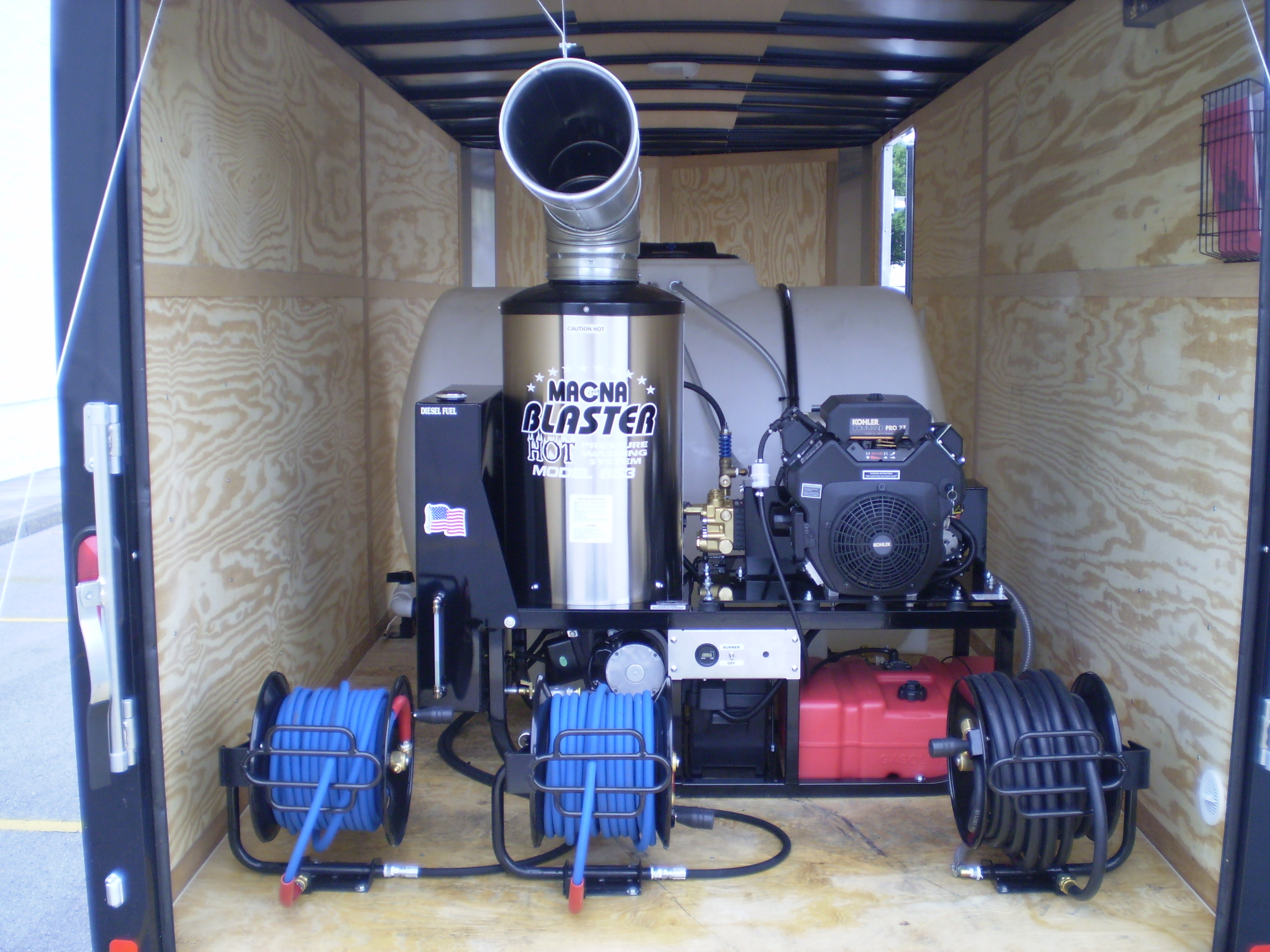 Mobile Pressure Washers And Trailers Pressure Washers